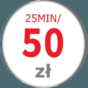 Bon rabatowy 25MIN/50ZŁ