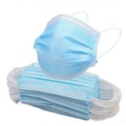 Maski chirurgiczne niebieskie 3-PLY na gumce 50 szt.
