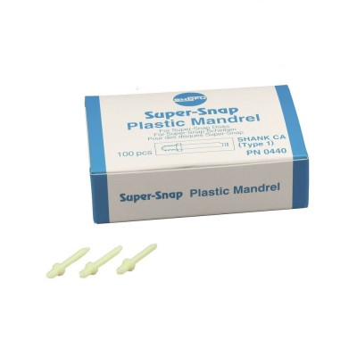 Shofu Super-Snap Plastic Mandrels CA - trzymadło 100 szt.