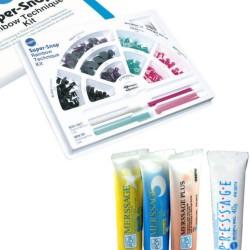 Shofu Super-Snap Rainbow Zestaw + dowolna pasta profilaktyczna